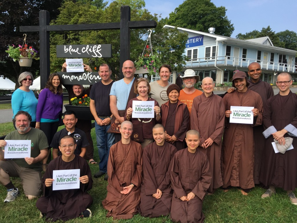 Blue Cliff Monastery Group Photo