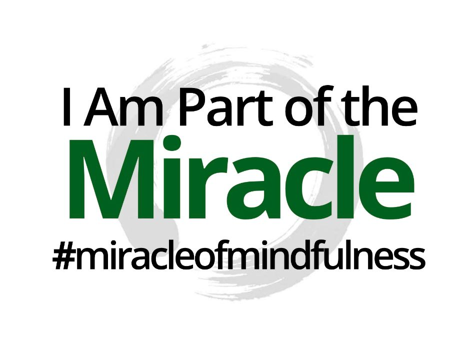 I Am Part of the Miracle of Mindfulness - Facebook
