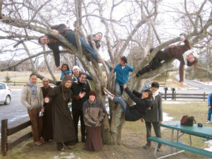 Brooklyn Sangha in the Tree